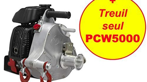 Portable Winch Gas-Powered Capstan Winch – 2 1 HP, 50cc