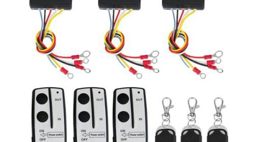 3 wireless winch remote control kit 12v for truck jeep suv atv 3 wireless winch remote control kit 12v for truck jeep suv atv