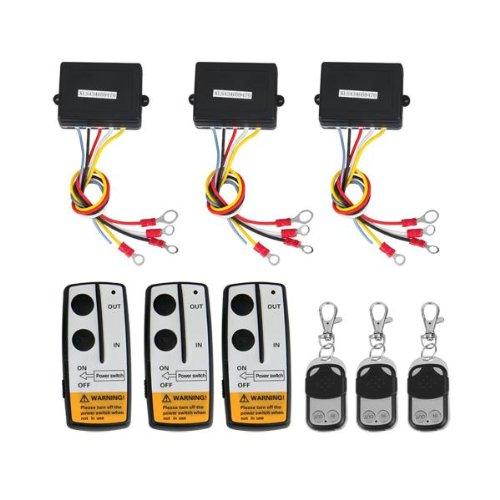 3 wireless winch remote control kit 12v for truck jeep suv atv 3 x english user manual more info customer reviews · ramsey suv winch