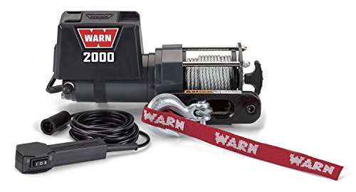 winch winch superstore part 2 warn 92000 2000 dc utility winch small in size so you can mount in tight spots 1 6 horsepower permanent magnet dc motor differential planetary gear train