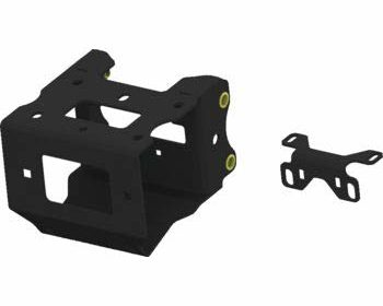 KFI Products Winch Mount with Contactor Bracket Polaris 2013